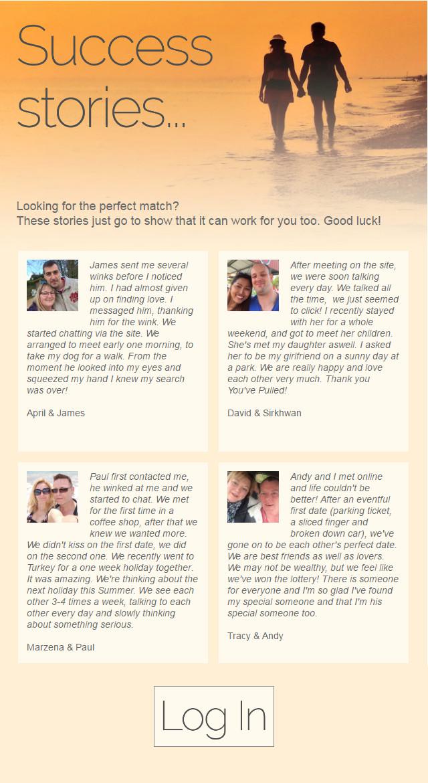 Pof dating success stories
